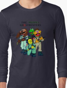 Muppet Ghostbusters Long Sleeve T-Shirt