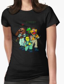 Muppet Ghostbusters Womens Fitted T-Shirt