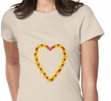Berry Daisy Womens Fitted T-Shirt