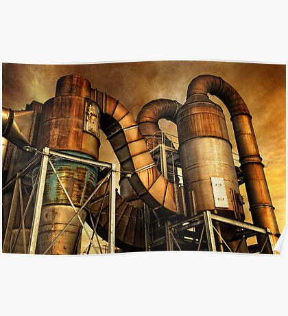 Industrial Might Poster