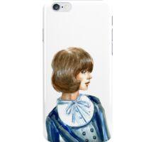Portrait of beautiful girl iPhone Case/Skin