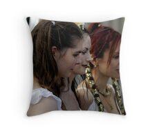 The Mediaeval Baebes Throw Pillow