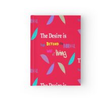Beyond the Normal Living  Hardcover Journal