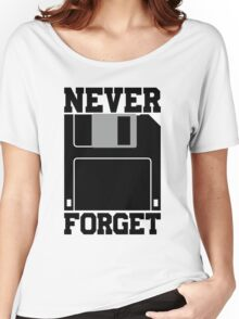 Floppy Disk - Never Forget Women's Relaxed Fit T-Shirt