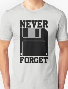 Floppy Disk - Never Forget Unisex T-Shirt