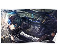 Black rock Shooter Poster