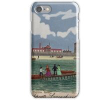 Southport 1855. iPhone Case/Skin
