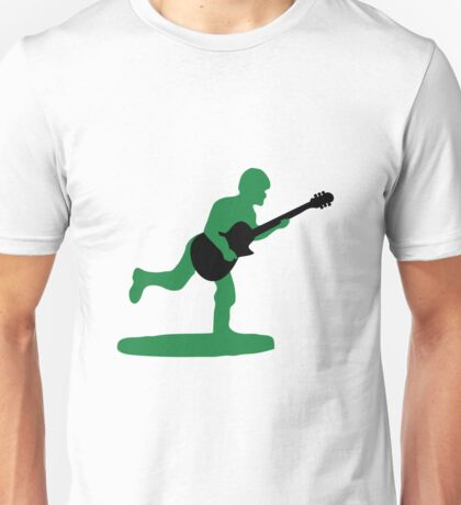 Guitar Soldier Unisex T-Shirt
