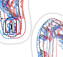 3D FootWearPrints Sticker