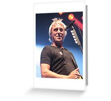 Paul Weller Greeting Card
