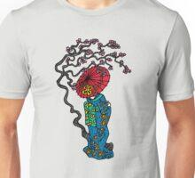 Umbrella Geisha Color Unisex T-Shirt
