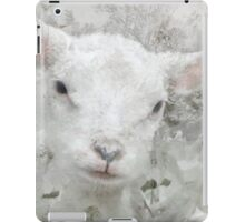 Lamb in Spring Blossoms iPad Case/Skin