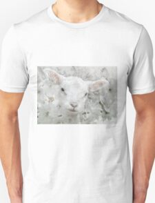 Lamb in Spring Blossoms T-Shirt