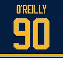 Buffalo Sabres Ryan O'Reilly Jersey Back Phone Case by Russ Jericho