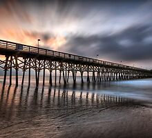 Early Morning at the Pier by Joel Hall