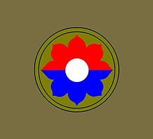 9th Infantry Division (United States - Historical) by wordwidesymbols