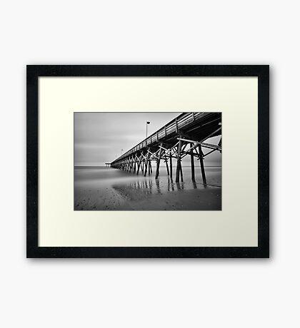 Lonely Morning Framed Print