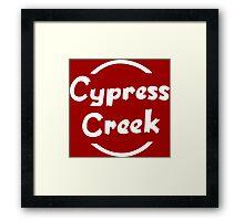 Cypress Creek shirt – The Simpsons, Globex, Hank Scorpio Framed Print
