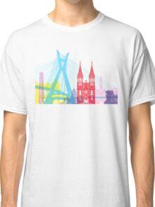 Sao Paulo skyline pop Classic T-Shirt
