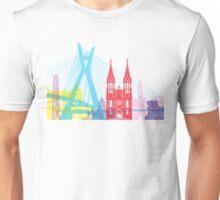 Sao Paulo skyline pop Unisex T-Shirt