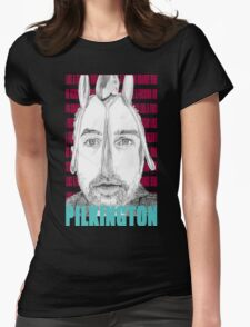 Karl Pilkington (with spoons) Portrait  Womens Fitted T-Shirt