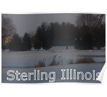 Sterling, Illinois Poster
