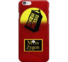 Miss Zygon (Red) iPhone Case/Skin