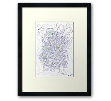 0308 - Endlose Details with embedded Fragments of Hope Framed Print