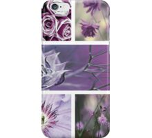 Collection ~ Purple Flowers iPhone Case/Skin