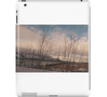 Winter In The Lakes iPad Case/Skin