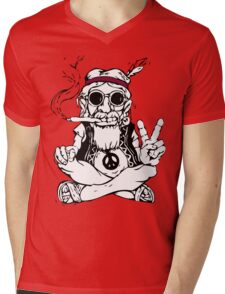 Hippy master Mens V-Neck T-Shirt