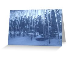 icicle Greeting Card