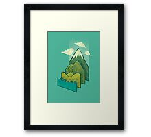 How to Build a Landscape Framed Print