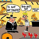 Got Tuba 4&#x27;s? by Londons Times Cartoons by Rick  London