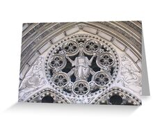 The Cathedral of St. John the Divine Greeting Card