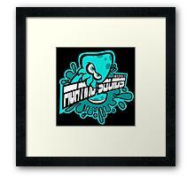 Fighting Squids Framed Print