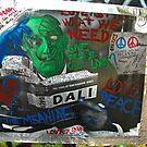 John Lennon Peace Wall in Prague by Chas Fullerton