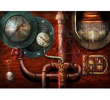 SteamPunk - Controls Photographic Print