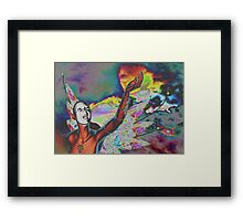 STAR QUEST Framed Print