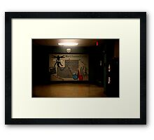 Sterling High School Poster Framed Print