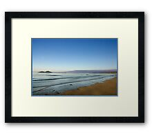 View of Dunk Island from Mission Beach Framed Print