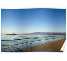 View of Dunk Island from Mission Beach Poster