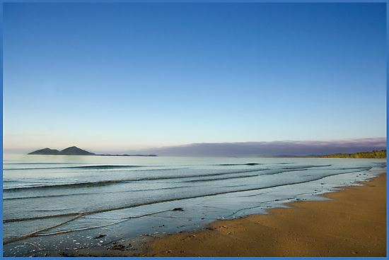 View of Dunk Island from Mission Beach by Susan Kelly