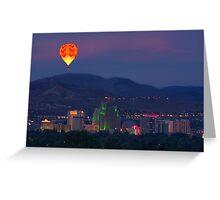 Reno Hot Air Balloon Race Greeting Card