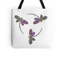 Dragonfly Trio T-Shirt Tote Bag
