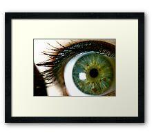 Super Nova Iris Framed Print