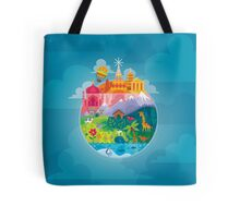 Small World Tote Bag