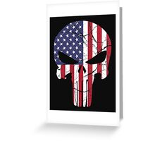 American Punisher Greeting Card