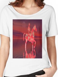 RIDING AT DUSK Women's Relaxed Fit T-Shirt