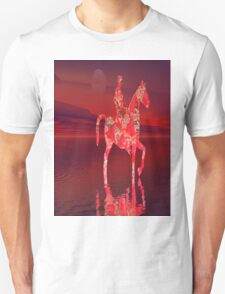 RIDING AT DUSK Unisex T-Shirt